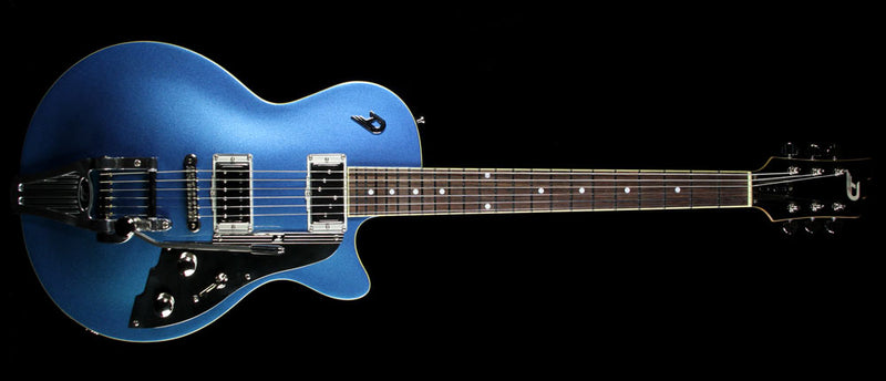 Used Duesenberg Starplayer TV No F-Hole Electric Guitar Catalina Blue