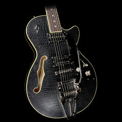 Duesenberg Starplayer TV Outlaw Electric Guitar Black Alligator Tolex