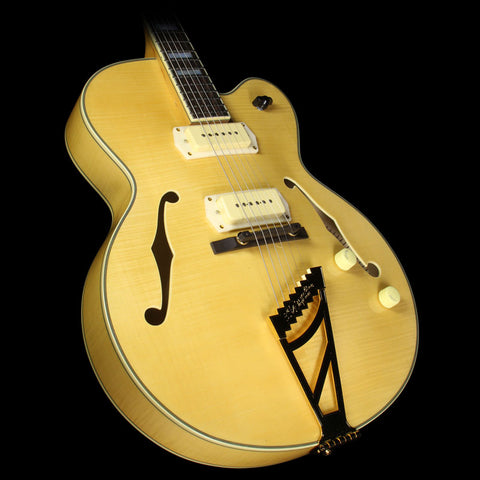 D'Angelico EX-59 Archtop Electric Guitar Natural