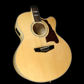 D'Angelico SJ-600 Madison Jumbo Acoustic/Electric Guitar Natural