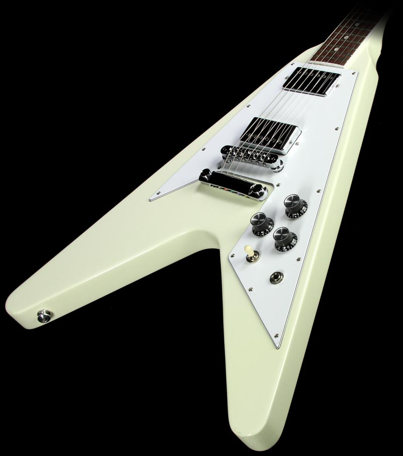Used Gibson Flying V 120th Anniversary Electric Guitar Classic White  #140111452