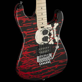 Charvel Pro Mod Warren DeMartini San Dimas Skull Graphic