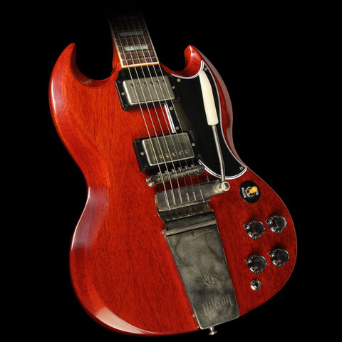 Gibson Custom Shop SG Standard Reissue with Maestro Electric Guitar VOS Faded Cherry