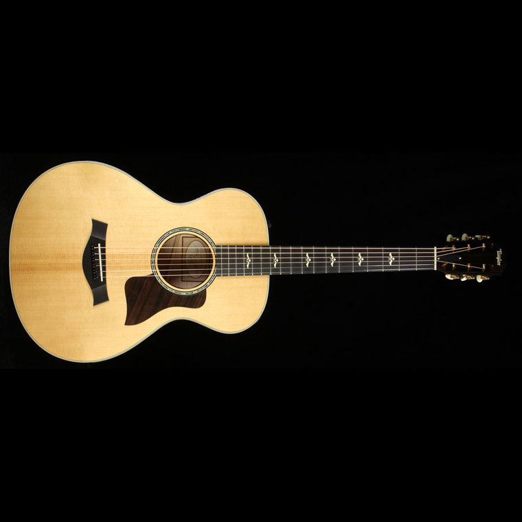 Used Taylor 612e 12 Fret Grand Concert Acoustic Guitar Natural