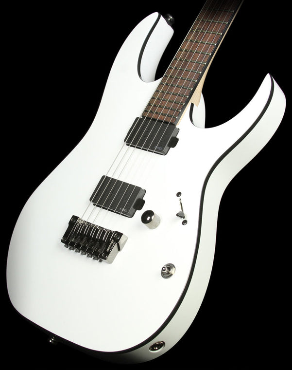 Used 2014 Ibanez RGIR20FE Iron Label Electric Guitar White
