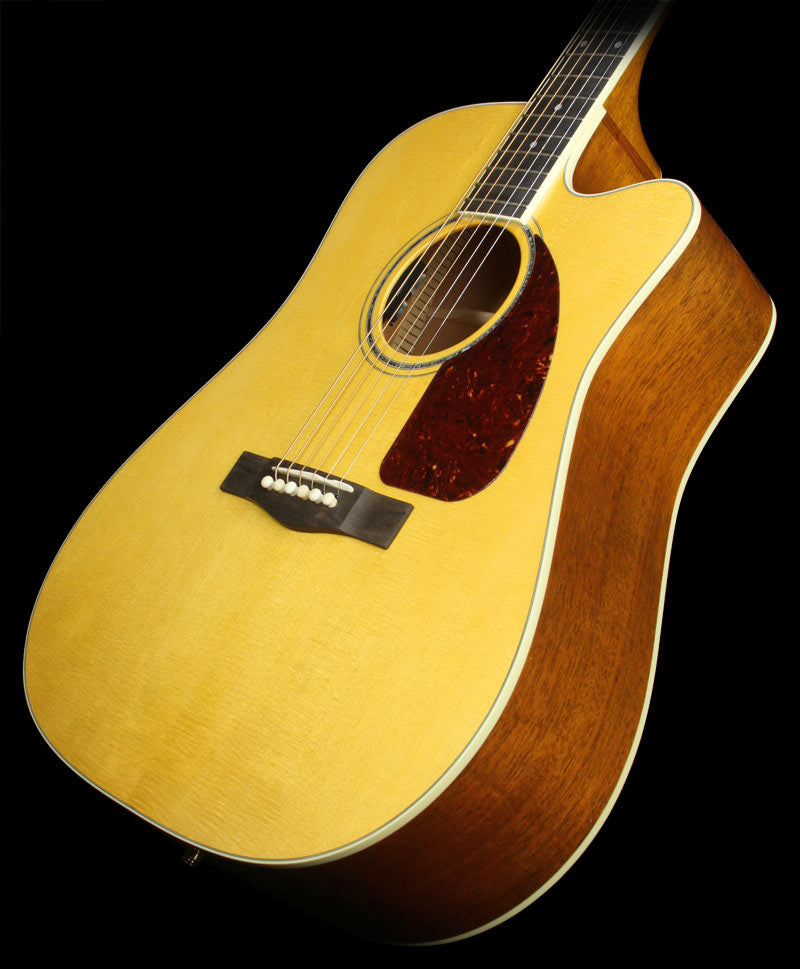Used Fender Custom Shop TPDCE-1 Dreadnought Acoustic Guitar Natural