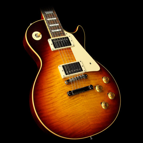 Used 2016 Gibson Custom Shop True Historic 1959 Les Paul Reissue Electric Guitar Vintage Dark Burst