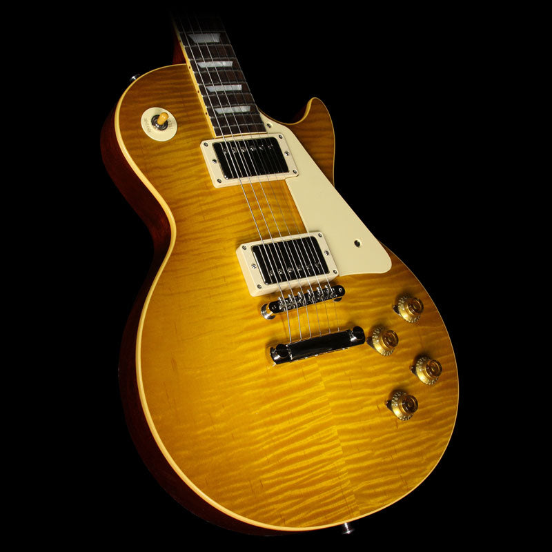 Gibson Custom Shop True Historic 1960 Les Paul Reissue Electric Guitar Lemonburst