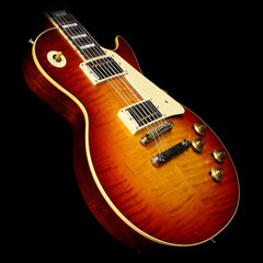 Used 2015 Gibson Custom Shop Murphy Aged True Historic 1960 Les Paul Reissue Electric Guitar Aged Vintage Cherry Sunburst
