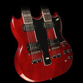 Gibson Custom Shop EDS-1275 Double Neck Electric Guitar Heritage Cherry