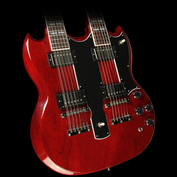 Gibson Custom Shop EDS-1275 Double Neck Electric Guitar Heritage Cherry CS601731