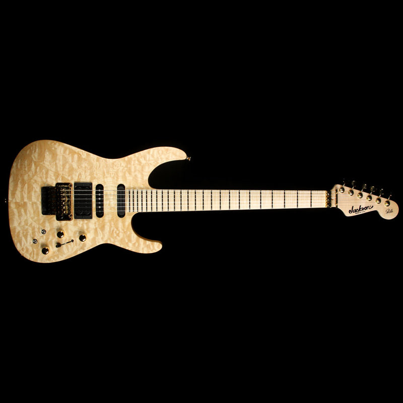 Jackson USA Select Artist PC1 Phil Collen Electric Guitar Au Natural XN009034