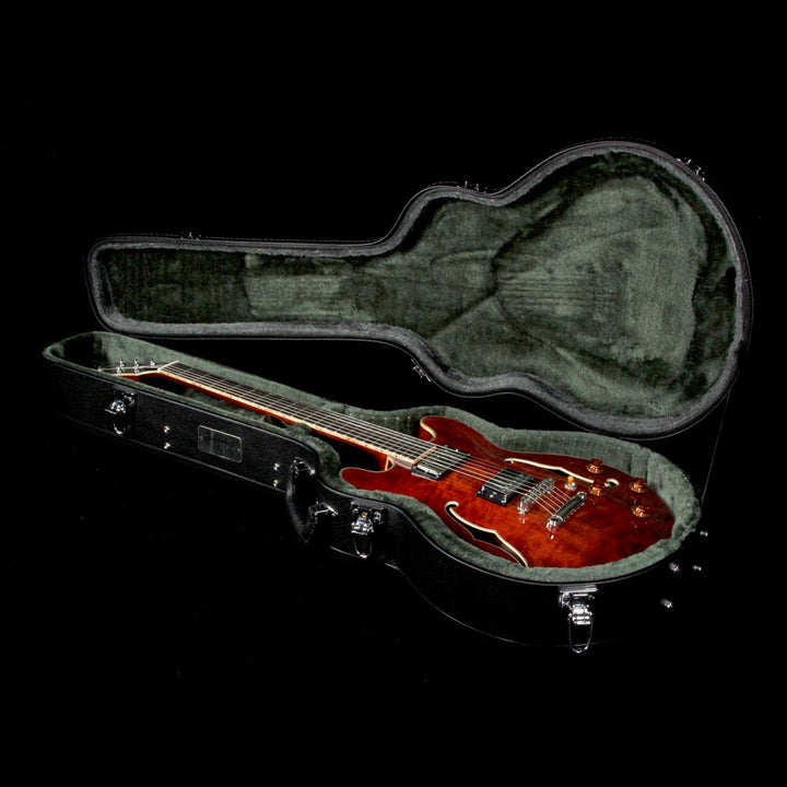 Eastman T184MX Thinline Hollowbody Electric Guitar Classic Finish 14750313