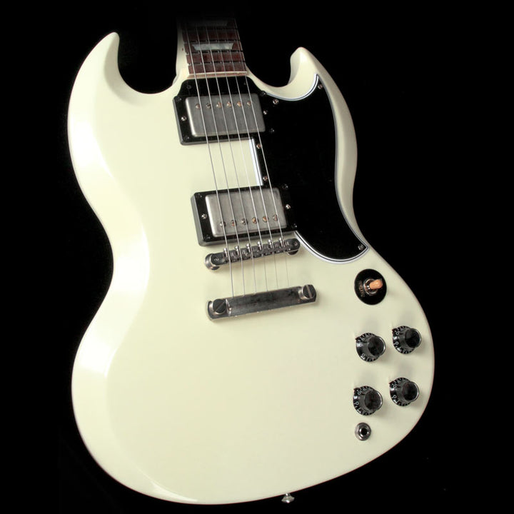 Gibson Custom Shop SG Standard Reissue Electric Guitar VOS Classic White 61132