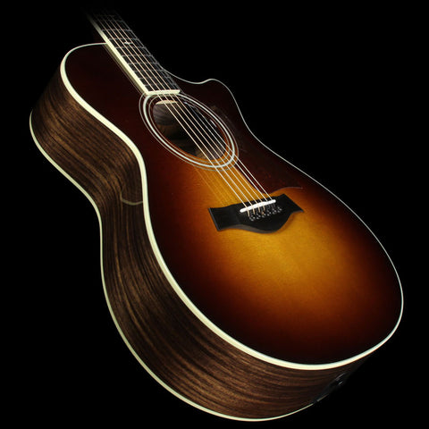 Taylor 712ce Grand Concert Acoustic/Electric Guitar Tobacco Sunburst