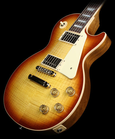 Used 2015 Gibson Les Paul Traditional Electric Guitar Honeyburst