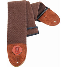 Levy's MSSC4 Heavy-Weight Cotton Guitar Strap Brown