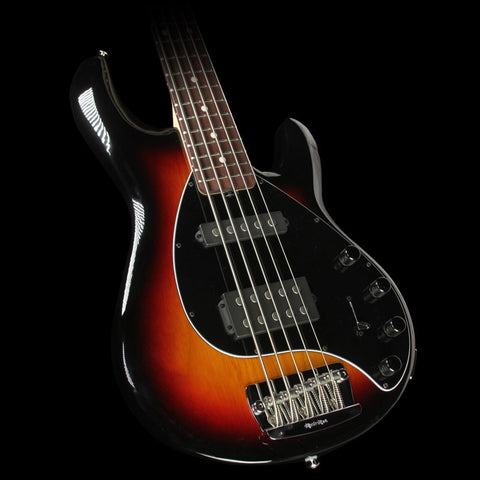 Ernie Ball Music Man Stingray 5 Electric Bass Guitar Tobacco Sunburst