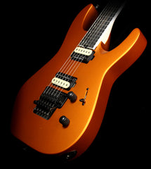 Used Jackson Pro Dinky DK2 Electric Guitars Satin Orange Blaze