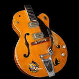 Used 2007 Gretsch Custom Shop Master Built G6120SSC Brian Setzer Tribute Electric Guitar Vintage Western Maple Stain