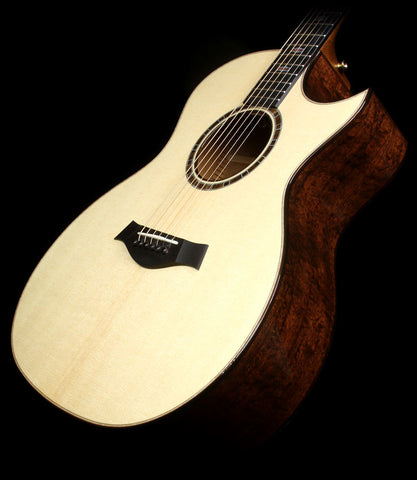 Used 2015 Taylor 514ce Limited Edition Quilted Sapele Grand Auditorium Acoustic-Electric Guitar Natural