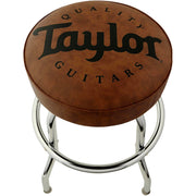 "Taylor 24"" Logo Brown Bar Stool"