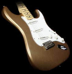 Used 2015 Fender Custom Shop Builder Select Greg Fessler 1969 Stratocaster Electric Guitar Firemist Gold Metallic