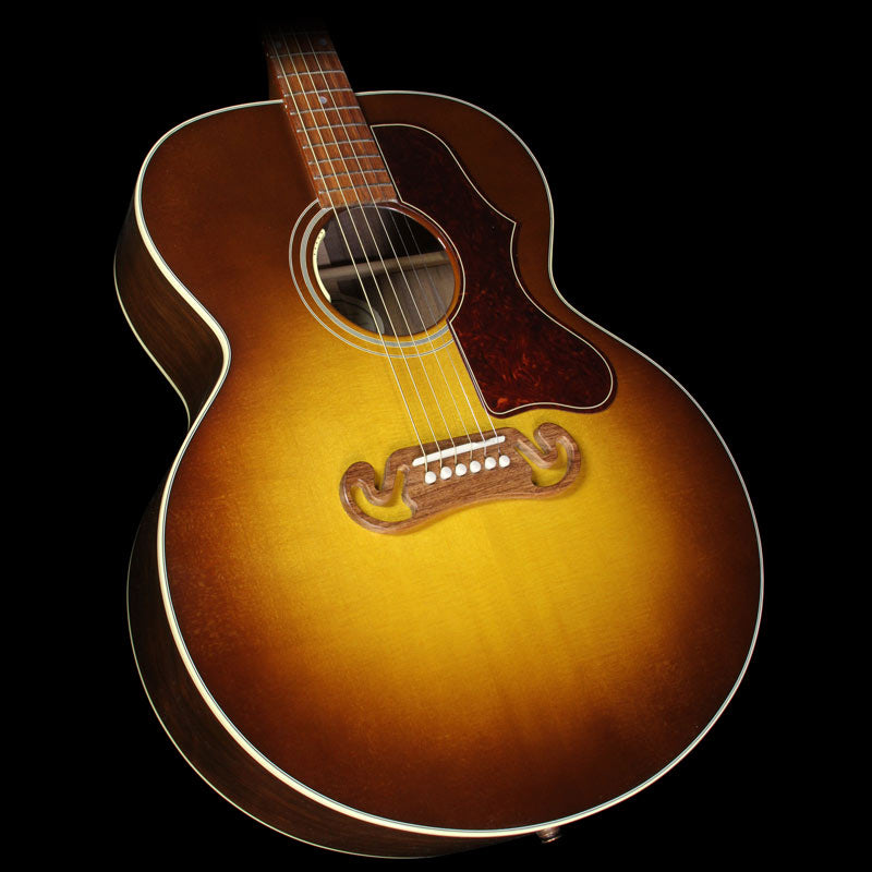 Gibson Montana SJ-100 Super Jumbo Walnut Acoustic/Electric Guitar Honeyburst