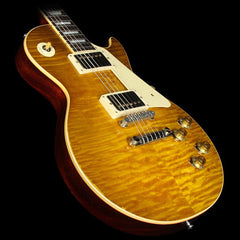 Used 2015 Gibson Custom Shop Murphy Aged True Historic 1959 Les Paul Reissue Electric Guitar Aged Lemonburst