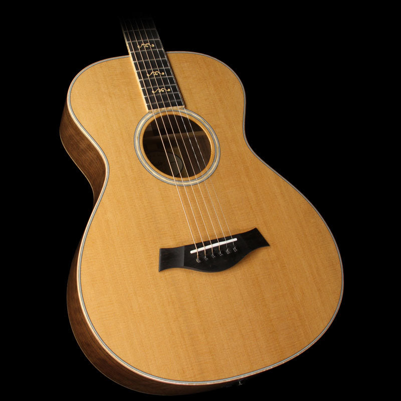 Used 2015 Taylor Custom Shop BTO Grand Concert 12 Fret Figured Walnut Acoustic-Electric Guitar Natural