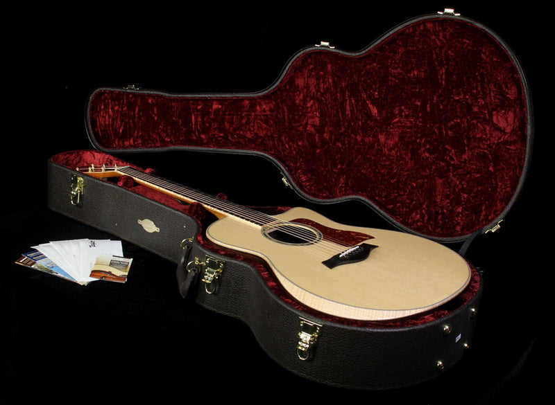 Used 2015 Taylor Custom Shop BTO Grand Orchestra Indian Rosewood Acoustic Guitar Natural 1109105144