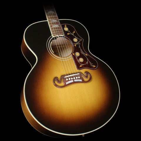 Used Gibson SJ-200 Standard Acoustic-Electric Guitar Vintage Sunburst