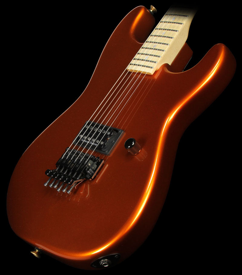 Used 2008 Charvel Custom Shop San Dimas H1 Electric Guitar Candy Tangerine
