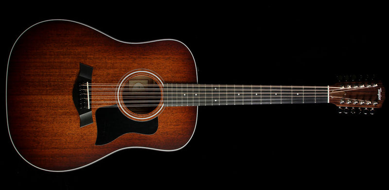 Used 2016 Taylor 360e Special Edition 12-String Dreadnought Acoustic-Electric Guitar Shaded Edgeburst 1108055050