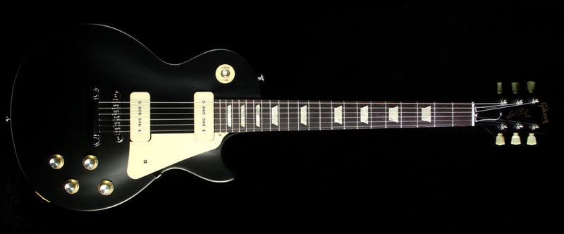 2016 Gibson Les Paul Special '60s Tribute Electric Guitar Satin Ebony LPST60TSECH1