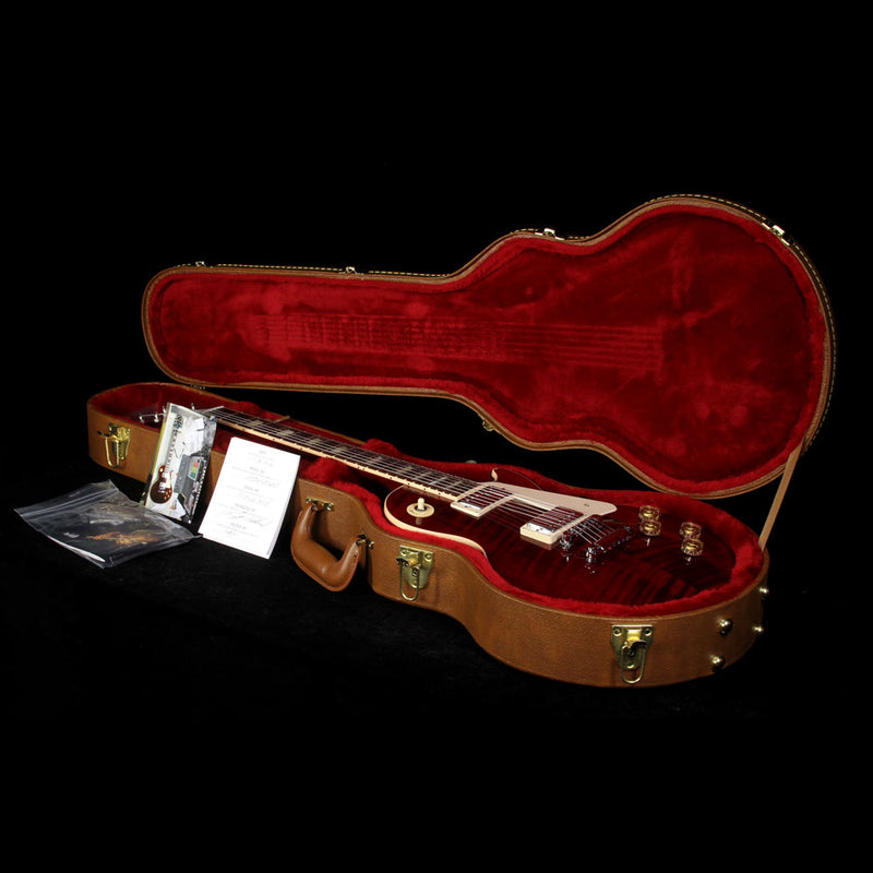 2016 Gibson Les Paul Traditional Premium Electric Guitar Wine Red 160066395
