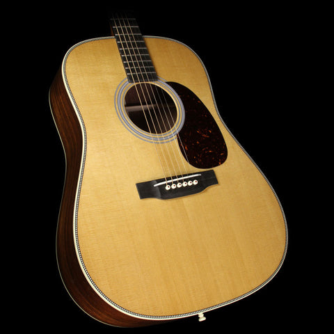 Martin Custom Shop D-28 Honduran Rosewood Acoustic Guitar Natural