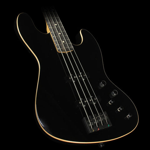 Used 2015 Suhr Classic J Swamp Ash Electric Bass Guitar Black