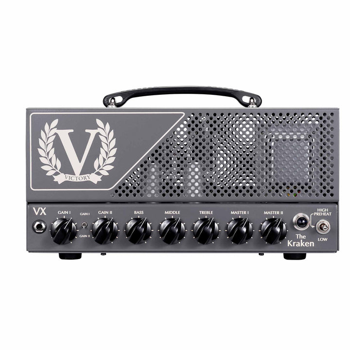 Victory Amplification VX The Kraken 50 Watt Guitar Amplifier Head VX  Head