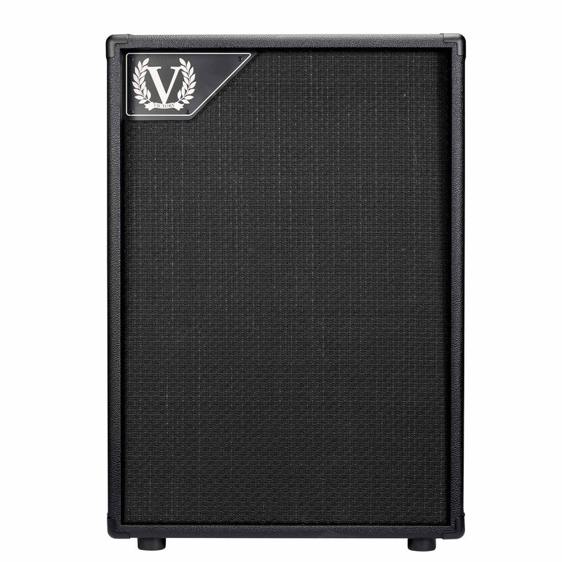 Victory Amplification V212VV Electric Guitar Amplifier Speaker Cabinet Black Tolex V212VV