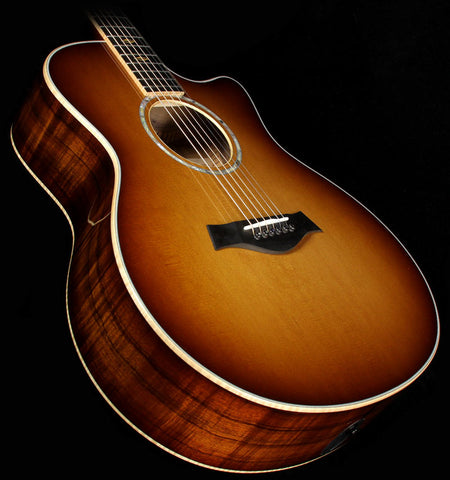 Used 2015 Taylor K16ce Limited Edition Grand Symphony Hawaiian Koa Acoustic-Electric Guitar Shaded Edgeburst