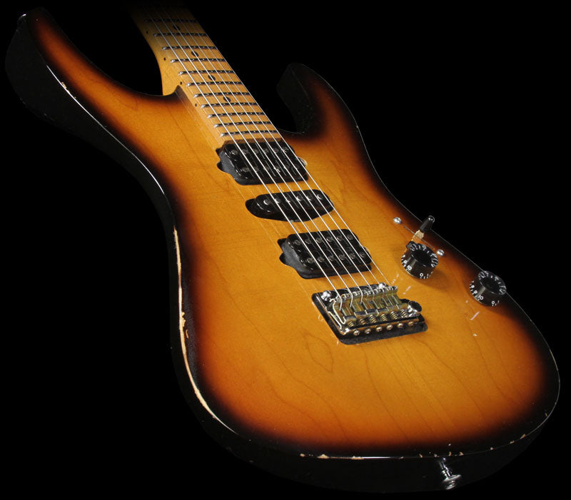 Used 2011 Suhr Guthrie Govan Signature Antique Modern Electric Guitar Two-Tone Sunburst