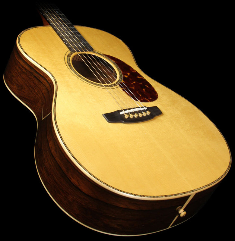 Used James Goodall Traditional OM Adirondack Spruce Acoustic Guitar Natural