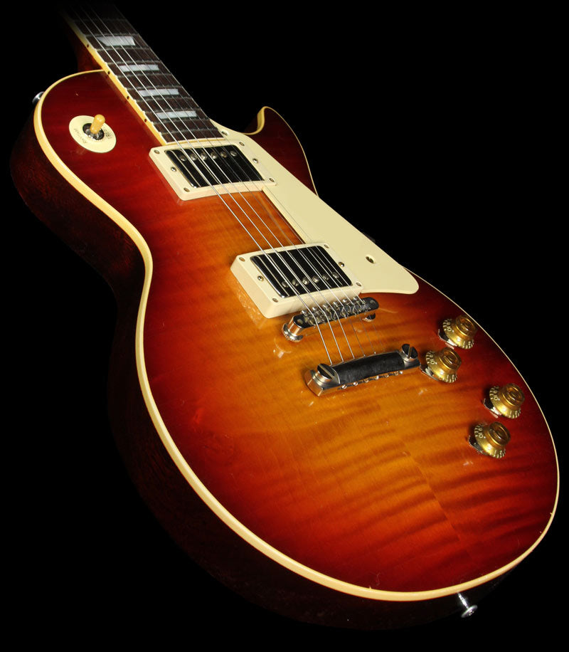 Used Gibson Custom Shop Murphy Aged True Historic 1959 Les Paul Reissue Electric Guitar Aged Vintage Cherry Sunburst