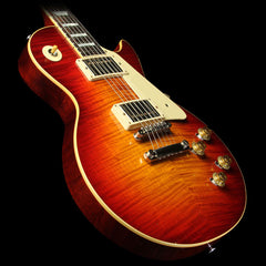 Used 2015 Gibson Custom Shop Murphy Aged True Historic 1959 Les Paul Reissue Electric Guitar Aged Vintage Cherry Sunburst