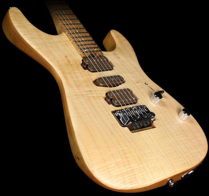 Used 2015 Charvel Guthrie Govan Signature Flame Top Electric Guitar GG1400293