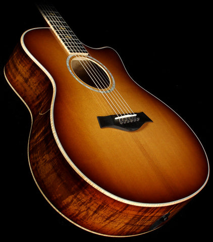 Taylor K16ce Limited Edition Grand Symphony Hawaiian Koa Acoustic-Electric Guitar Shaded Edgeburst