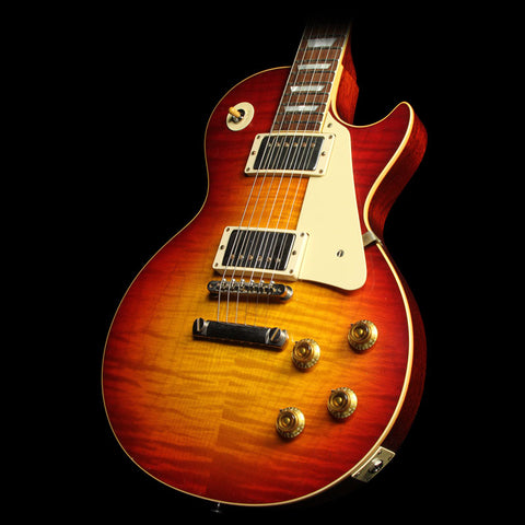 Used 2016 Gibson Custom Shop Aged True Historic 1958 Les Paul Reissue Electric Guitar Aged Vintage Cherry Sunburst
