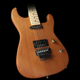 Charvel Custom Shop Exclusive Natural Series Carbonized Mahogany San Dimas Electric Guitar