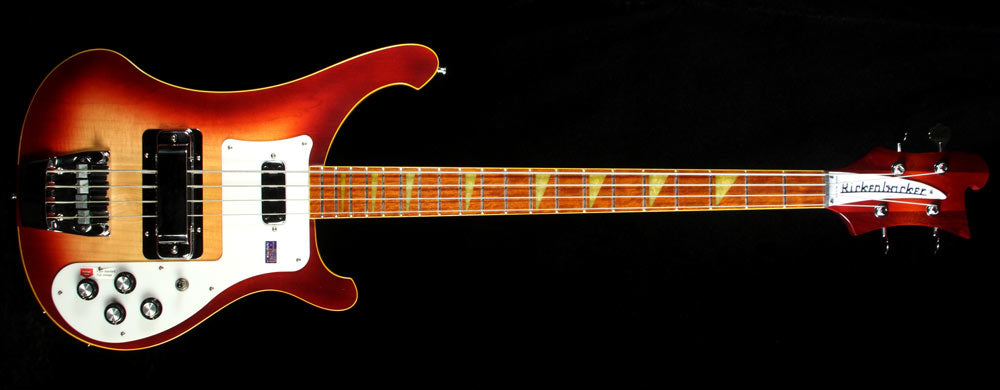 Used 2007 Rickenbacker 4003 Color Of The Year Edition Electric Bass Guitar  Amber Fireglo #07 25459